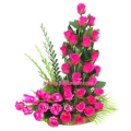 Arrangement of Pink Roses
