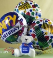 Birthday Teddy Bear Balloon