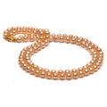 Freshwater Double Pearl Necklace