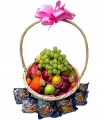 Muffin and fruit Basket