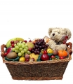 Teddy Fruit Basket