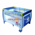 Prince Playpen With Bassinet & Deluxe Mosquito Net & Stand